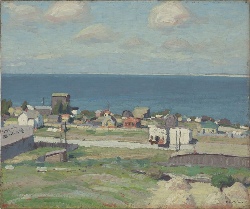 Clark Hobart, 'The Blue Bay: Monterey', 1915, Painting, Oil on canvas, de Young Museum