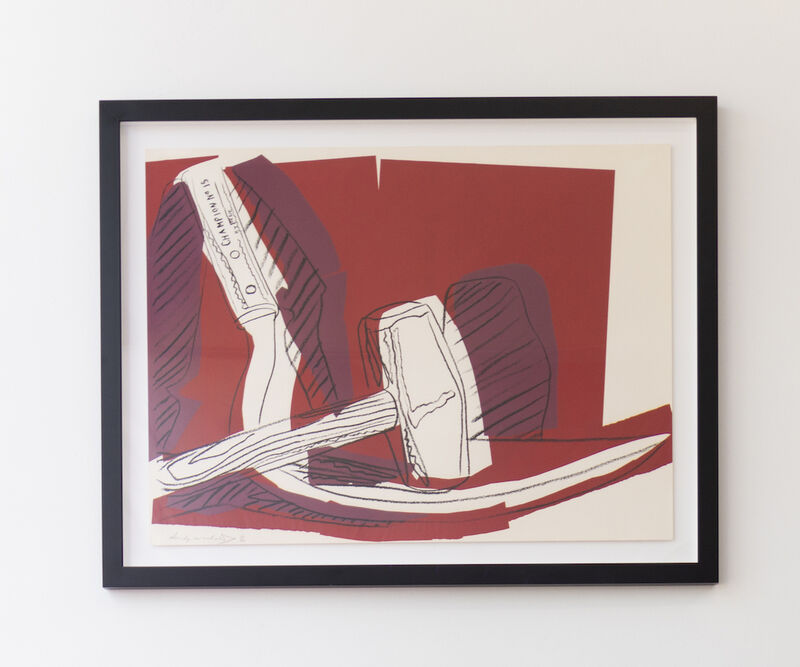 Andy Warhol, 'Hammer and Sickle (FS II.162)', 1983, Print, Screenprint on Strathmore Bristol Paper, Revolver Gallery