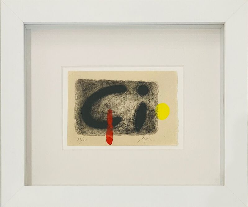 Joan Miró, 'Untitled from Noars Amour', 1961, Other, Etching and aquatint with hand-coloring on wove paper, Robert Fontaine Gallery