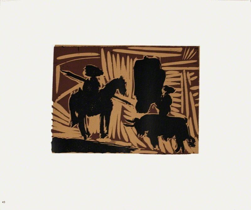 Pablo Picasso, 'Avant la Pique', 1962, Print, Linocut, ArtWise