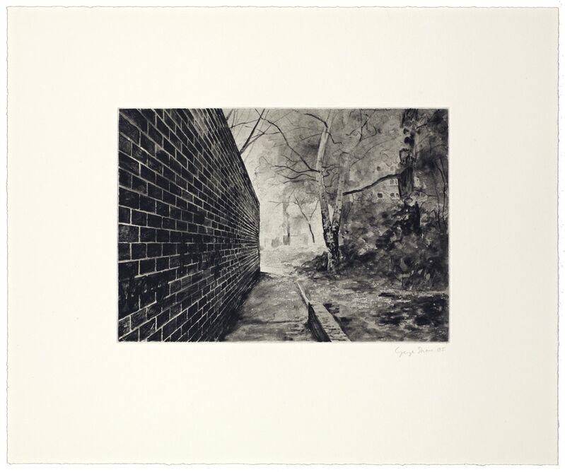 George Shaw (b. 1966), '12 Short Walks V', 2005, Print, Etching, Reuben Colley Fine Art