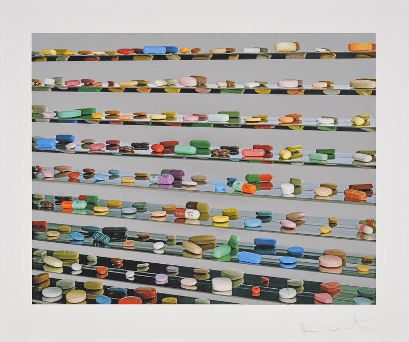 Damien Hirst, 'Utopia', 2012, Print, Foilprint, Samhart Gallery