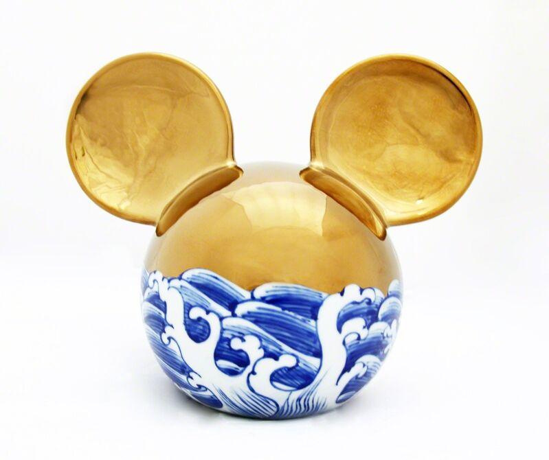 Li Lihong, 'Micky - Gold 2013', 2013, Sculpture, Ceramic, Galerie Loft