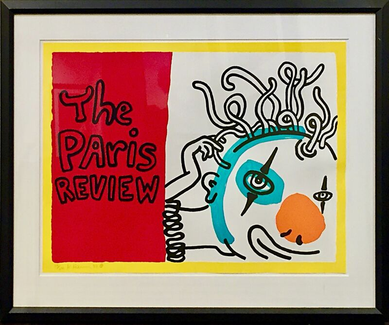 Keith Haring, 'The Paris Review ', 1989, Print, Serigraph on Rag paper, Off The Wall Gallery