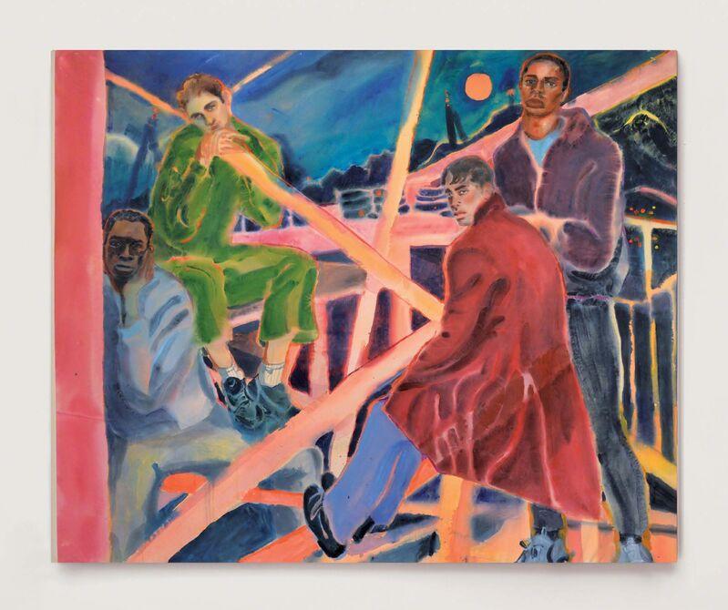 Rebecca Harper, 'Hanging By A Scaffold', 2019, Painting, Acrylic on canvas, Anima Mundi