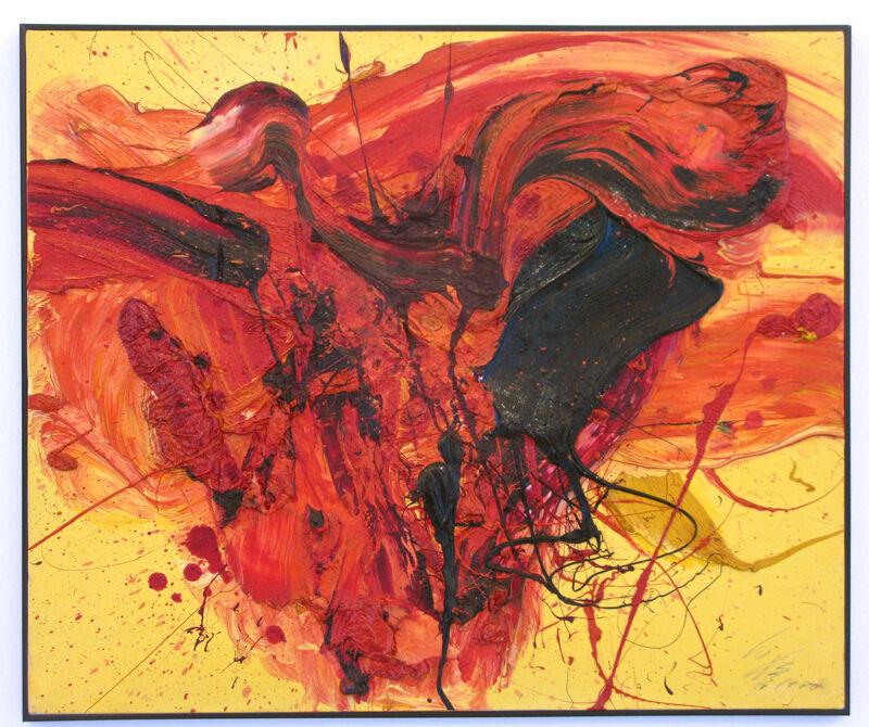 Kazuo Shiraga, 'Mouka', 1980, Painting, Oil on canvas, Studio Visconti