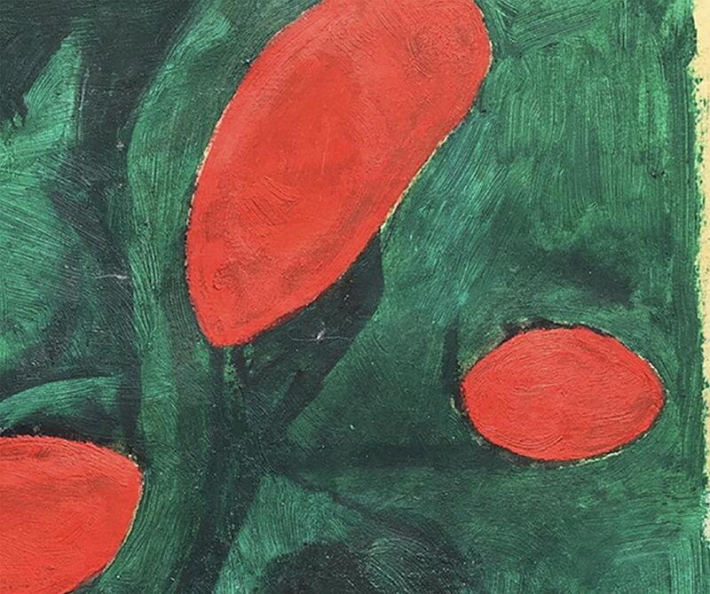 Fieroza Doorsen, 'Untitled (Id. 1281)', 2017, Painting, Oil on paper, IdeelArt
