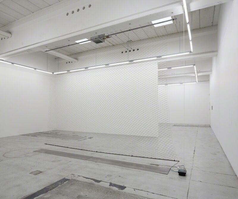 Ann Lislegaard, 'Zone of Fear', 1993, Installation, Metal, transformer, Galleri Nicolai Wallner