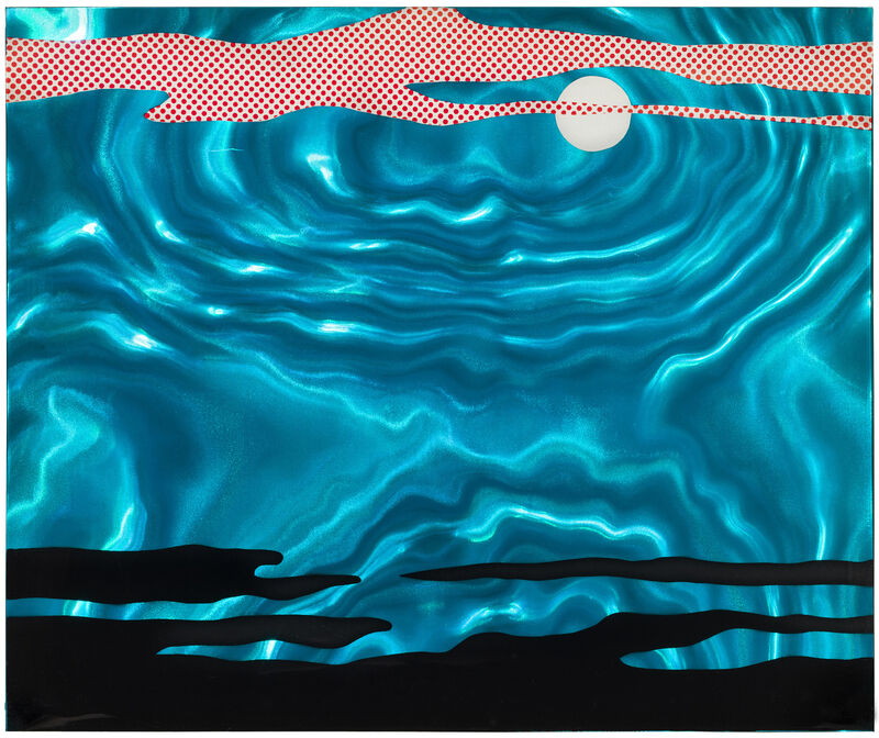 Roy Lichtenstein, 'Moonscape', 1965, Print, Screenprint on Rowlux, Pettibone Fine Art