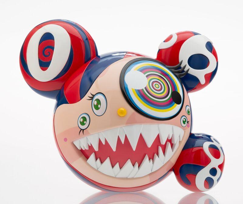 Takashi Murakami, 'Mr. Dob (Red)', 2016, Sculpture, Painted cast vinyl, Heritage Auctions