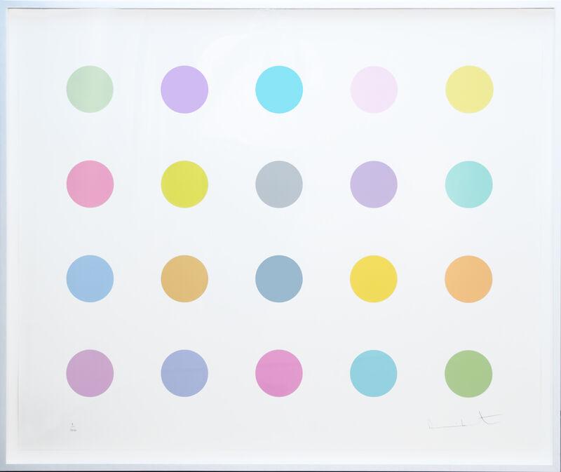 Damien Hirst, 'Vespula Vidua', 2011, Print, Screenprint with glaze in colors on wove paper, David Benrimon Fine Art