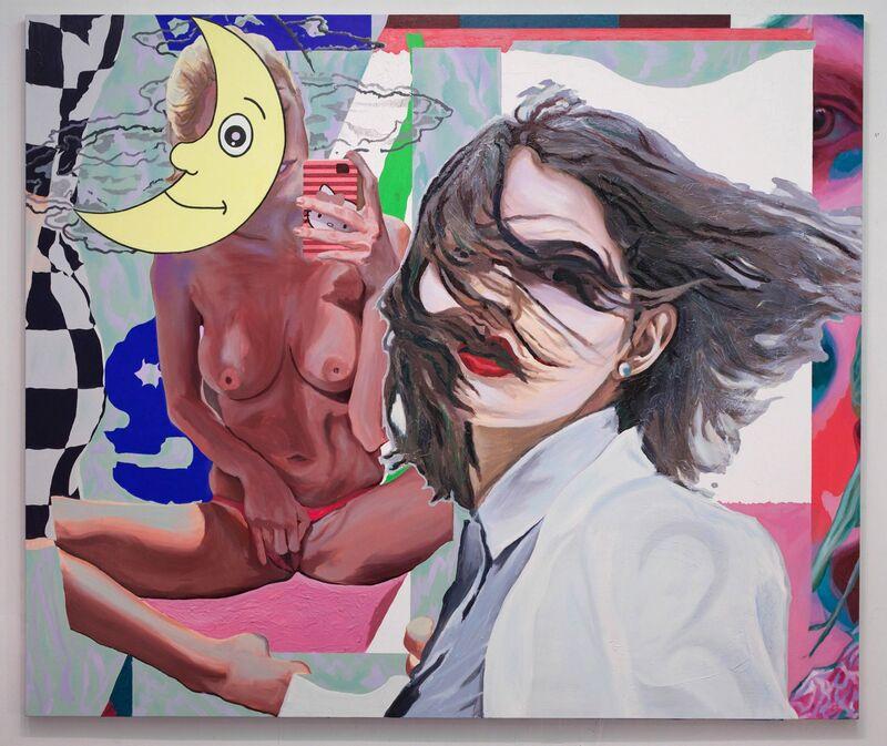 Justin Craun, 'Automatic Daydream', 2013, Painting, Oil, gesso, acrylic polymer on canvas, Fredericks & Freiser