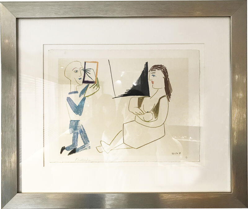 Pablo Picasso, 'Untitled', 1954, Print, Drawing on paper, AH Fine Art