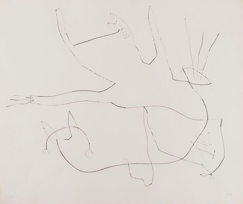 Joan Miró, 'Flux De L'Aimant Plate 6 (Dupin 376)', 1964, Print, Drypoint, Forum Auctions