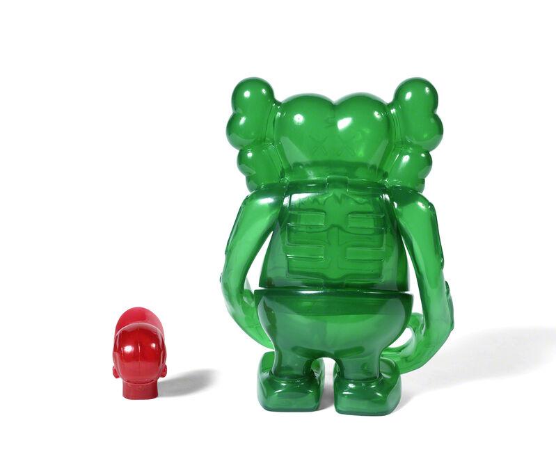 KAWS, 'SKULL KUN (Green)', 2006, Sculpture, Painted cast vinyl, DIGARD AUCTION