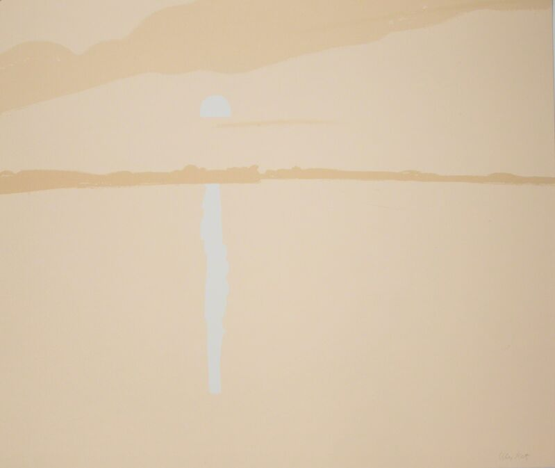 Alex Katz, 'Sunset: Lake Wesserunsett III', 1972, Print, Screeprint, Marlborough New York