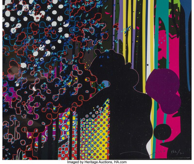 Takashi Murakami, 'Warp', 2009, Print, Offset lithograph in colors on smoothe wove paper, Heritage Auctions