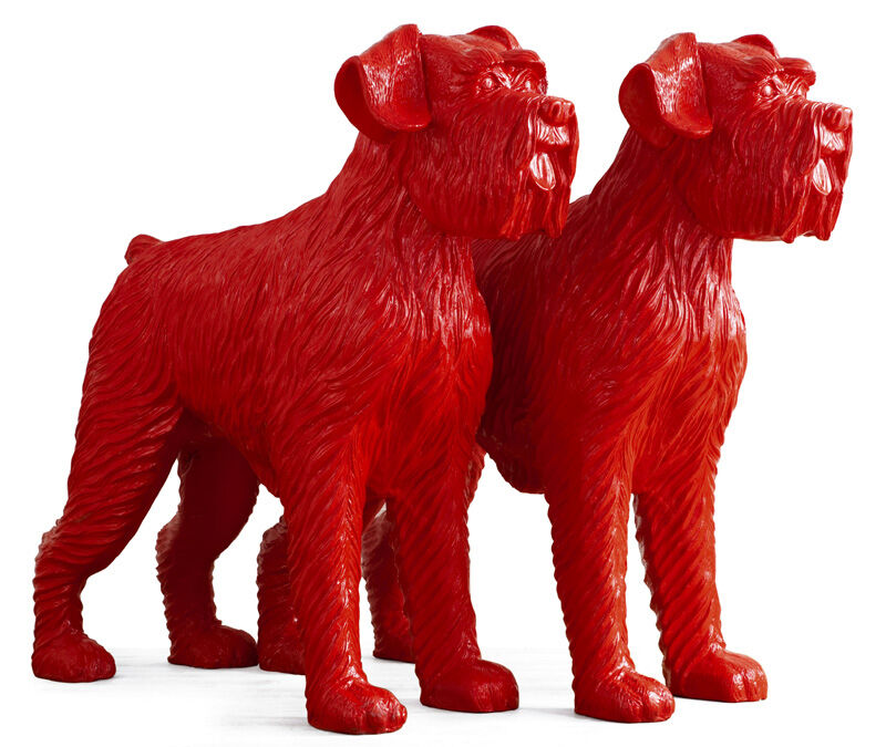 William Sweetlove, 'Cloned red dogs', 2006, Sculpture, Recycled plastic, resin, Kunsthuis Amsterdam