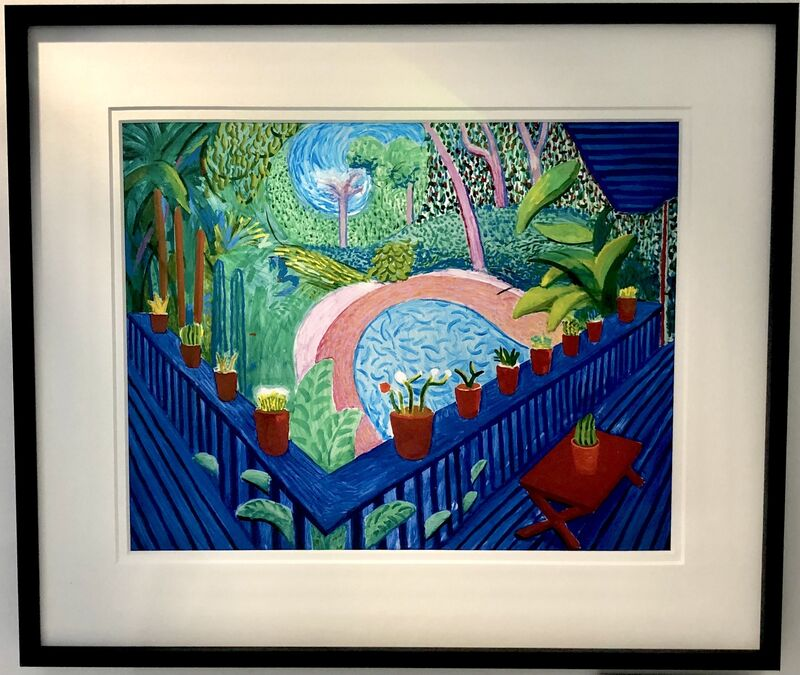 David Hockney, ''Red Pots in the Garden'2000', 2017, Print, Giclee Print, Mr & Mrs Clark's