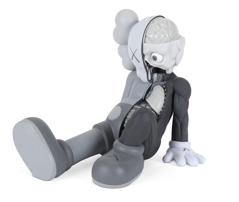 KAWS, 'Resting Place (Gray)', 2013, Sculpture, Painted cast vinyl, Julien's Auctions