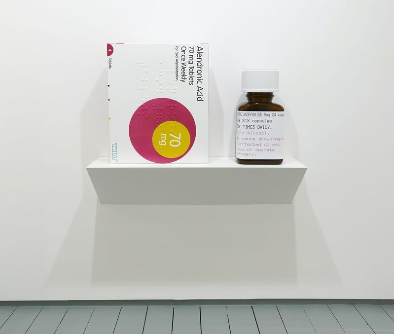 Damien Hirst, 'Alendronic Acid 70mg Tablets', 2014, Sculpture, Glass reinforced plastic and Polyurethane resin structure. 2014. Edition of 30, Paul Stolper Gallery