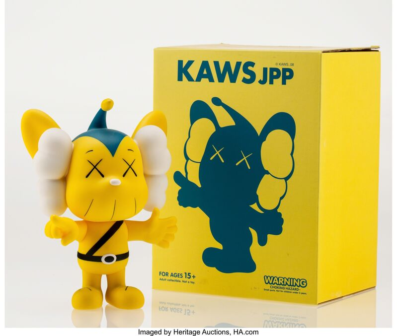 KAWS, 'JPP (Yellow)', 2008, Other, Painted cast vinyl, Heritage Auctions