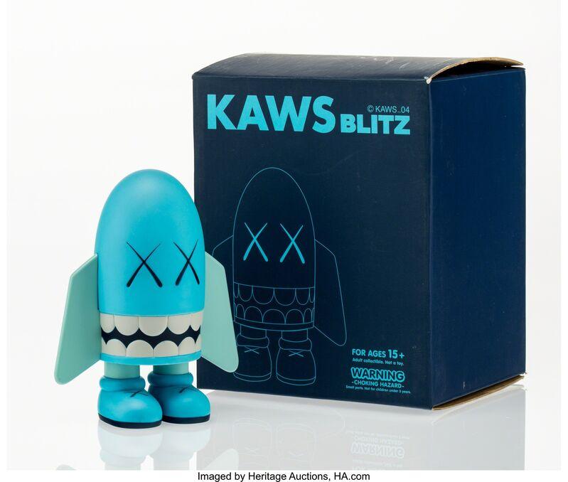 KAWS, 'Blitz (Blue)', 2004, Other, Painted cast vinyl, Heritage Auctions
