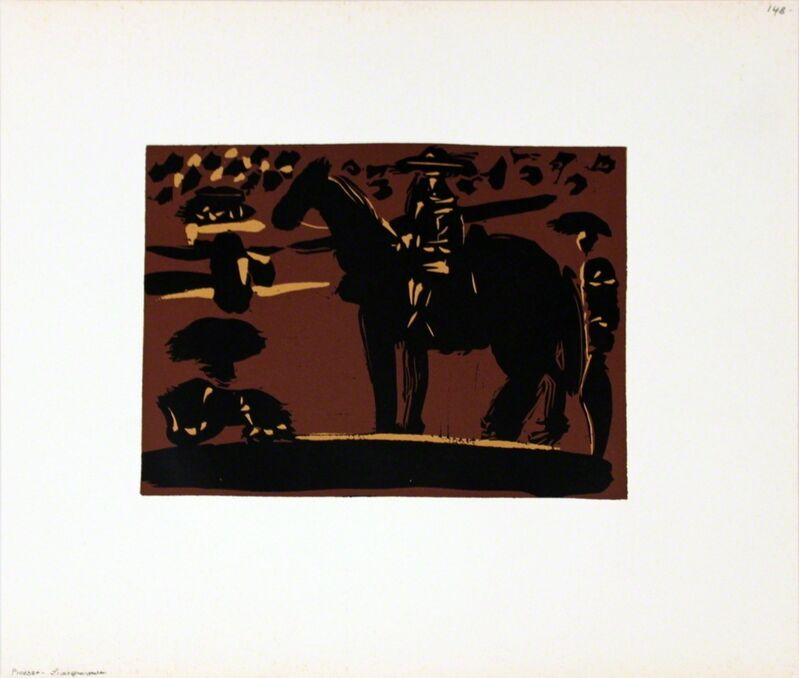 Pablo Picasso, 'Picador', 1962, Print, Linocut, ArtWise