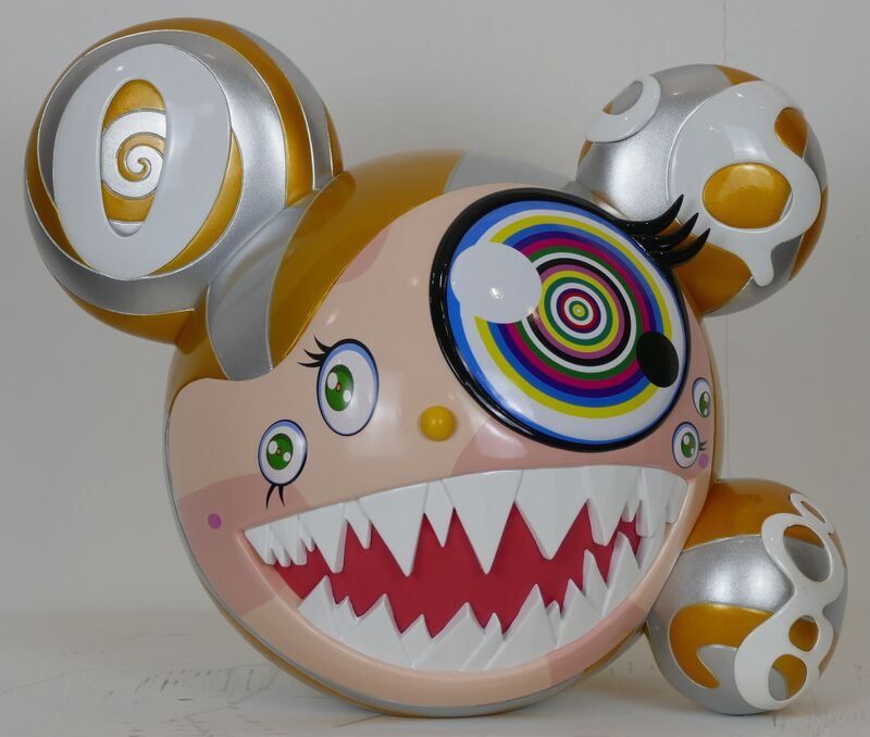 Takashi Murakami, 'Mr. Dob Figure Bait Gold', 2016, Sculpture, Vinyl, @Whatever Artspace