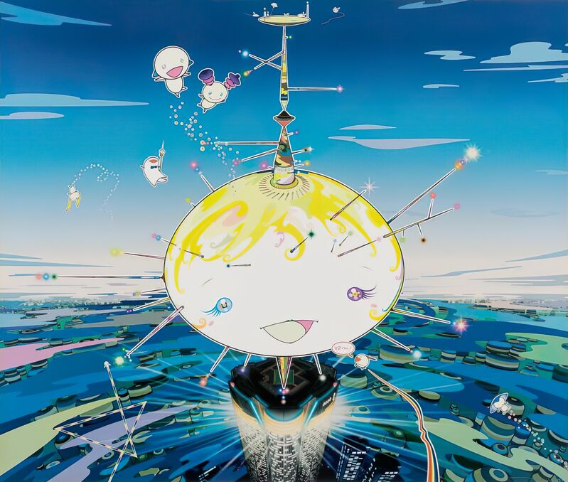 Takashi Murakami, 'Mamu came from the sky', 2007, Print, Offset print, Pinto Gallery