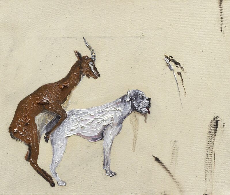 Camila Soato, 'Experiência polifônica№26', 2013, Painting, Oil on canvas, Zipper Galeria