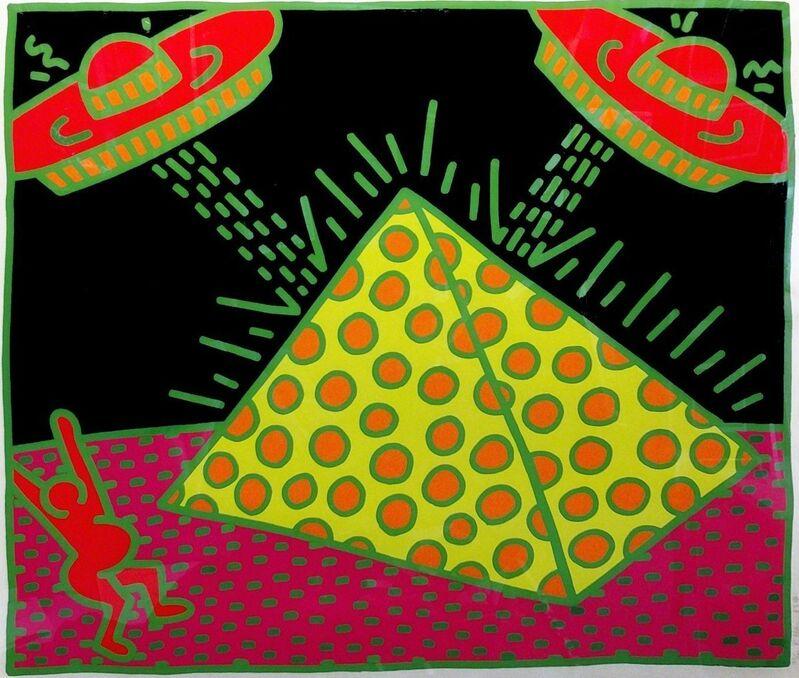 Keith Haring, 'FERTILITY #2', 1983, Print, SCREENPRINT IN COLORS, Gallery Art