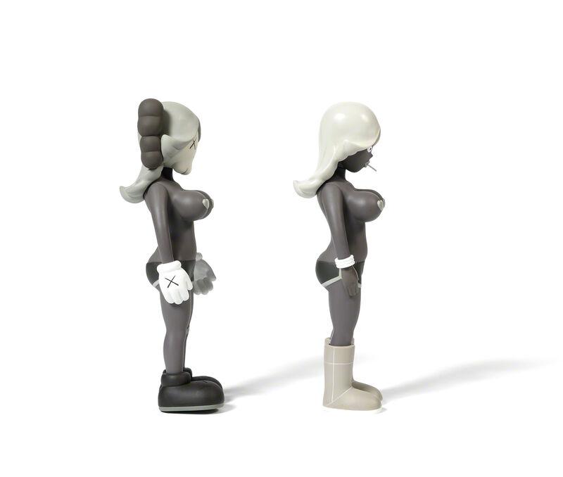 KAWS, 'THE TWINS (Brown)', 2006, Sculpture, Painted cast vinyl, DIGARD AUCTION