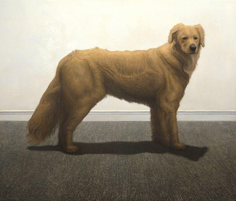 Stephen Vollo, 'Dog', 2015, Painting, New York Academy of Art