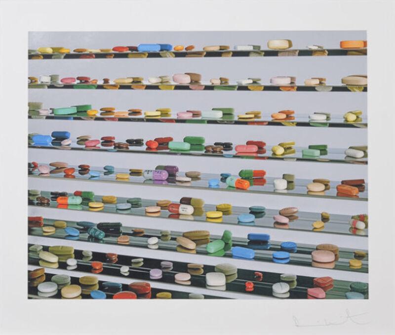 Damien Hirst, 'Utopia ', 2012, Print, Archival inkjet, glaze, and foilblock print, The Drang Gallery
