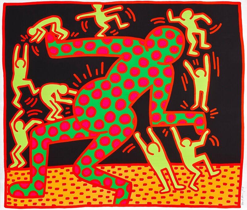 Keith Haring, 'Untitled III', 1983, Print, Colour Screenprint, Carroll Art