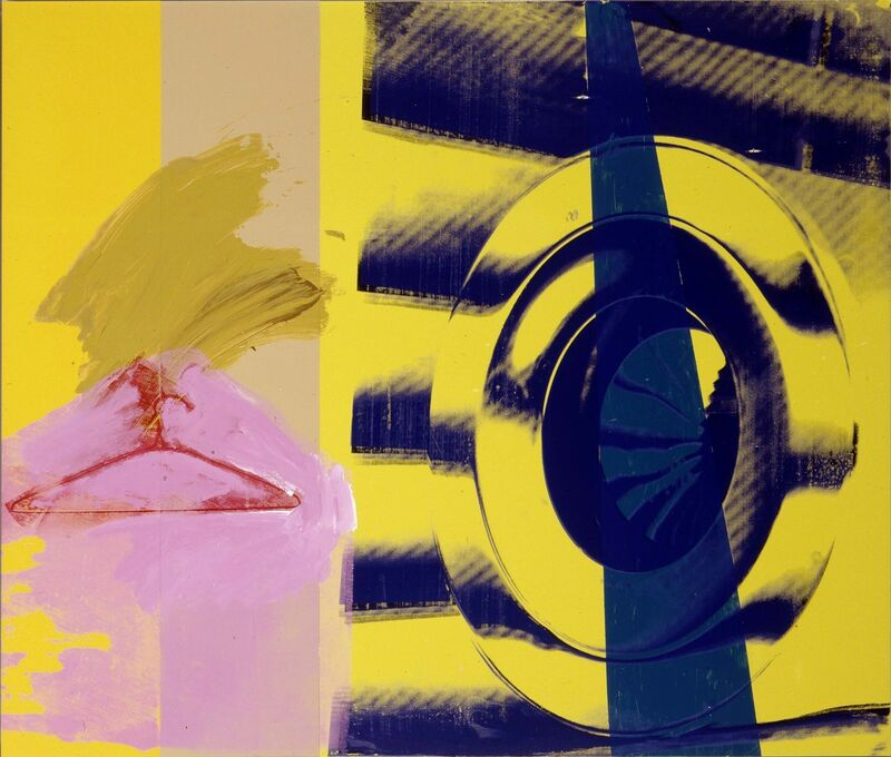 Robert Rauschenberg, 'Hangers (Urban Bourbon)', 1993, Acrylic on enameled aluminum, Robert Rauschenberg Foundation