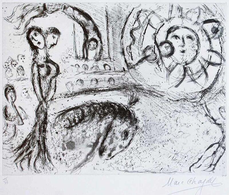 Marc Chagall, 'Le Cirque Fantastique', 1967, Print, Etching, Wallector