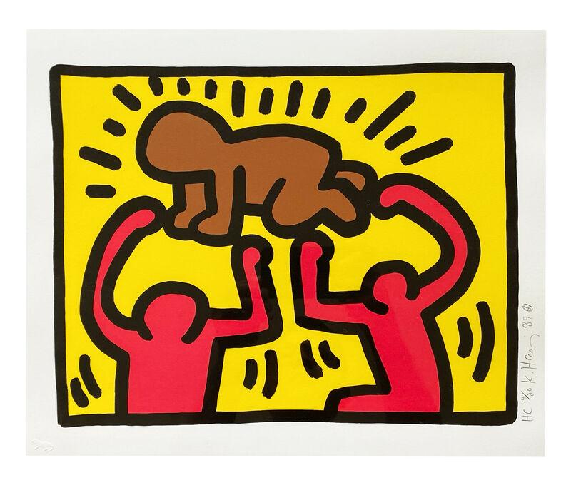 Keith Haring, 'Untitled IV #D', 1989, Print, Screenprint, Artsy x Rago/Wright