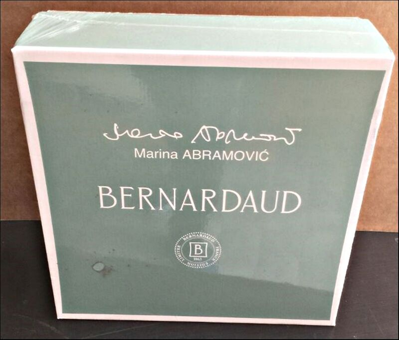 Marina Abramović, 'Limited Edition Set of Four Mismatched Porcelain Dinner Plates. New in Box', 2014, Design/Decorative Art, 4  Limited Edition Porcelain Plates in Bernardaud Box (New), Alpha 137 Gallery