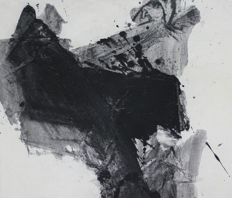 Lan Zhenghui, 'D Series No.15 D系列之十五', 2009, Drawing, Collage or other Work on Paper, Ink on Xuan paper, Galerie du Monde