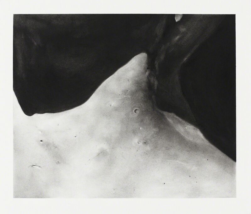 Romain Cadilhon, 'Fragment (Neck III)', 2017, Drawing, Collage or other Work on Paper, Charcoal on paper, Gallery 38