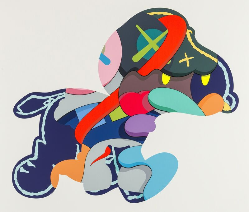 KAWS, 'Stay Steady', 2015, Print, Screenprint in colours, on wove paper, Forum Auctions
