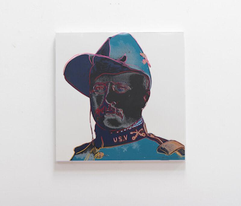 Andy Warhol, 'Teddy Roosevelt (FS II.386)', 1986, Print, Screenprint on Lenox Museum Board, Revolver Gallery