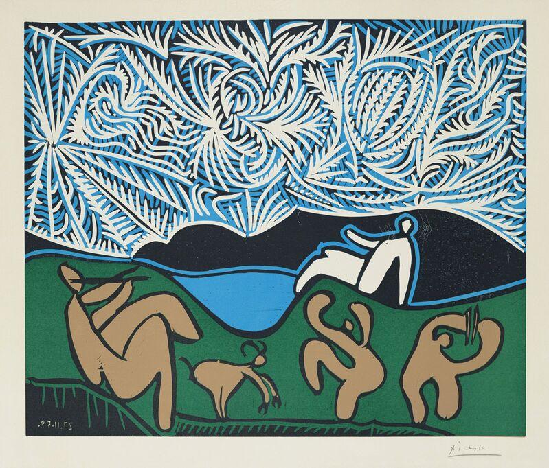 Pablo Picasso, 'Bacchanale', 1959, Print, Linocut in colours on Arches wove paper, Christie's