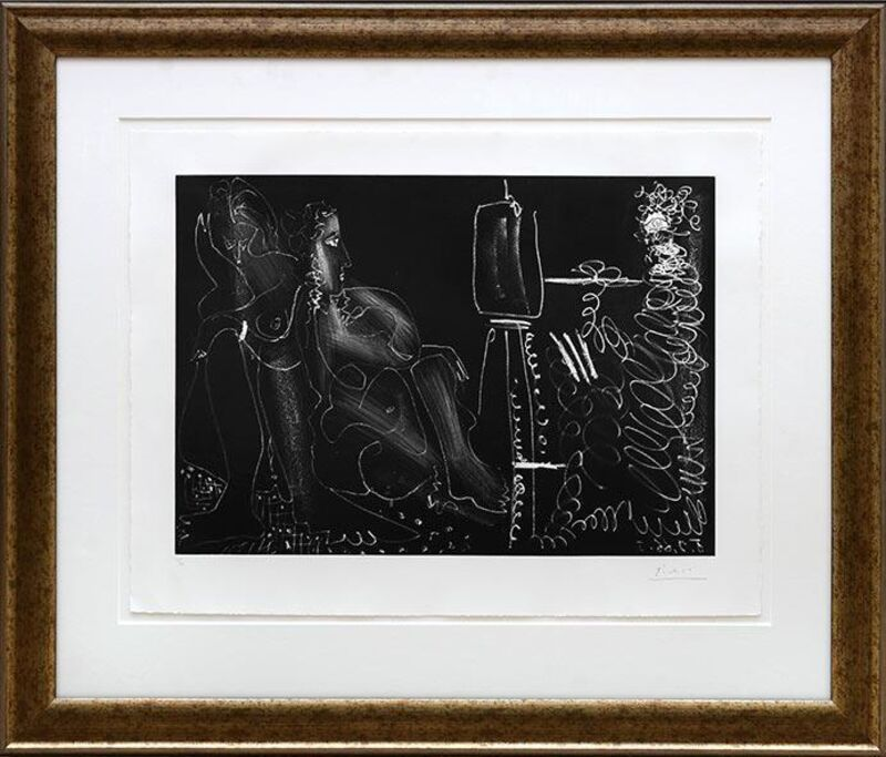 Pablo Picasso, 'Dans l'atelier', 1966, Print, Etching and aquatint on BFK Rives paper, Tanya Baxter Contemporary