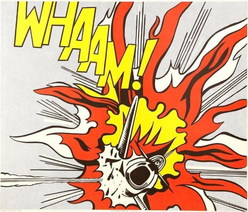 Roy Lichtenstein, 'Whaam!', 1968, Print, Offset lithograph on paper, Samhart Gallery