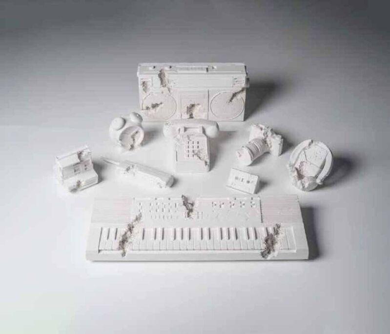 Daniel Arsham, 'Future Relics, Complete Excavation Set of Nine', 2013-18, Ephemera or Merchandise, Plaster and broken glass, DIGARD AUCTION