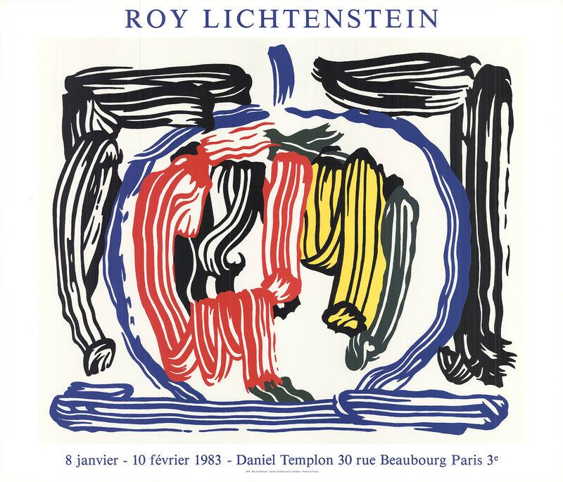 Roy Lichtenstein, 'Apple', 1983, Ephemera or Merchandise, Stone Lithograph, ArtWise
