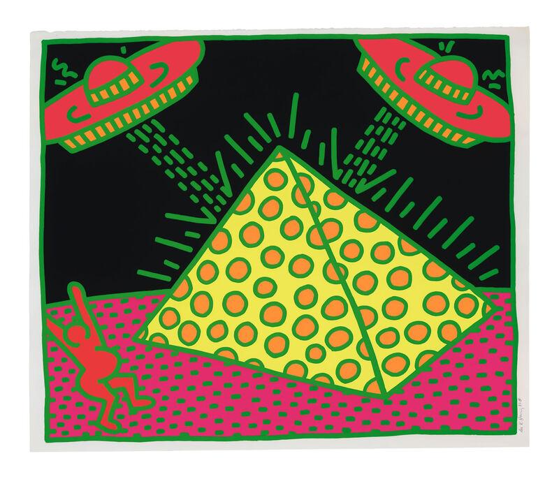 Keith Haring, 'Fertility Untitled 2', 1983, Print, Color Screenprint on Wove Paper, Pop Fine Art